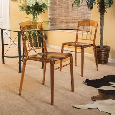 Branstetter Side Chair Upholstery: Brown