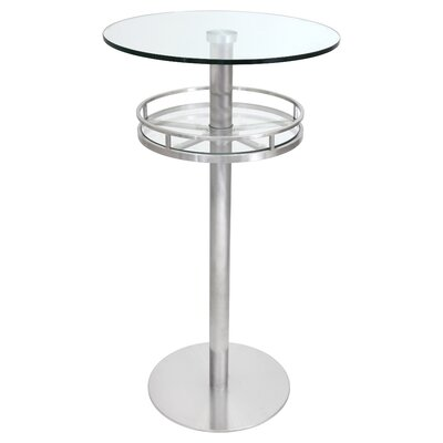 Chih Bar Table Finish: Clear
