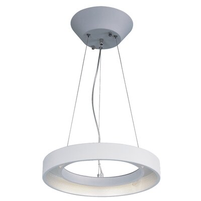 Brubaker 1-Light Steel Pendant