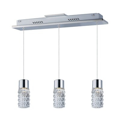 Burrows 3-Light LED Pendant