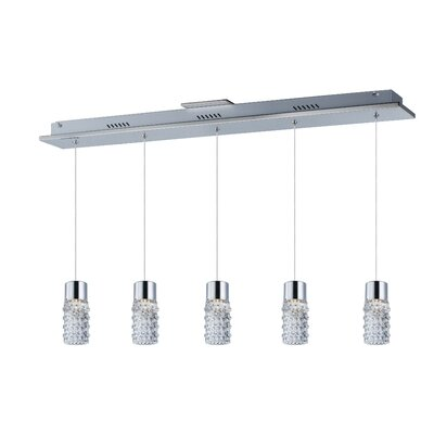 Burchell 5-Light LED Pendant