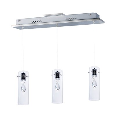 Miami-Dade 3-Light LED Pendant