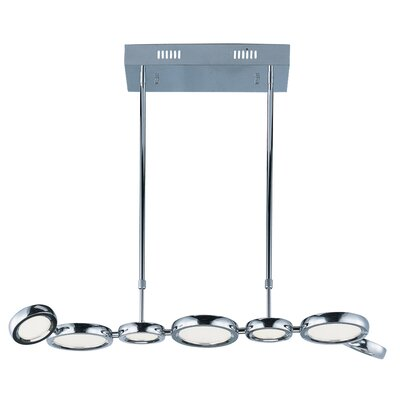 Brough 7-Light LED Kitchen Island Pendant
