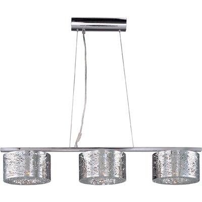 Bulkley 3-Light Pendant with LED Bulb