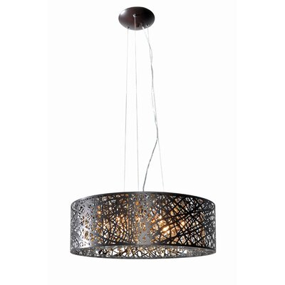 Bullard 9-Light Drum Pendant with Bulb