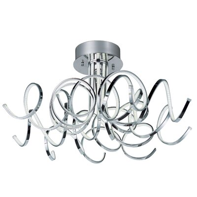 Bruder 9-Light Semi flush mount