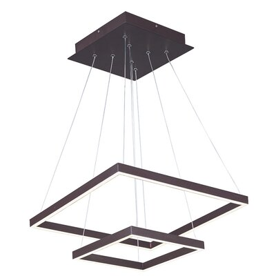 Boca Ciega LED 2 Tier Pendant