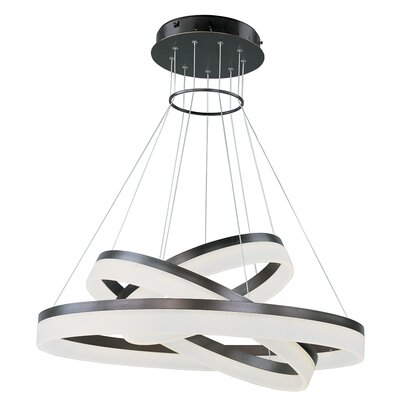 Harlem Heights 3 Tier Pendant