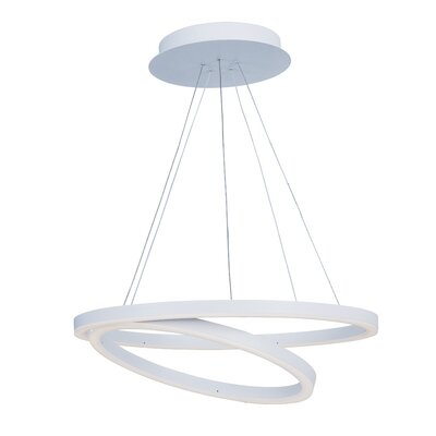 Buller 1-Light White Pendant