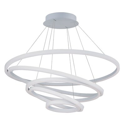 Buckwalter 1-Light White LED Pendant
