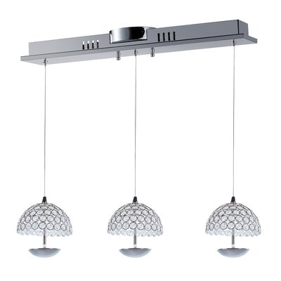Buker 3-Light Pendant