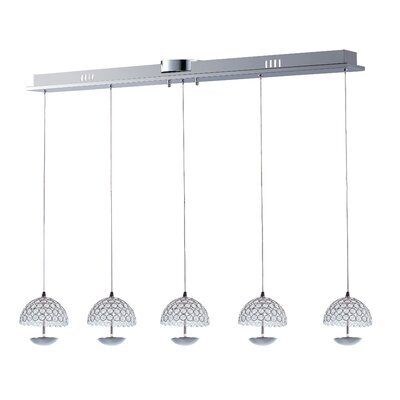 Callicoat 5-Light Kitchen Island Pendant