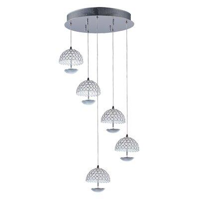 Burroughs 5-Light Cluster Pendant