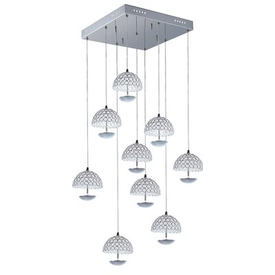 Cabe 9-Light Pendant