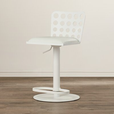 Breit Adjustable Height Swivel Bar Stool