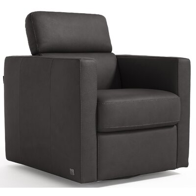 Annabesook Diletta Swivel Club Chair Color: Black