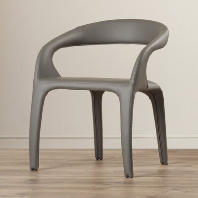 Camron Upholstered Arm Chair Upholstery: Grey