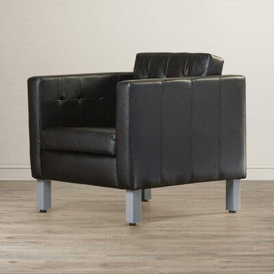 Castaneda Pen Armchair Upholstery: Black