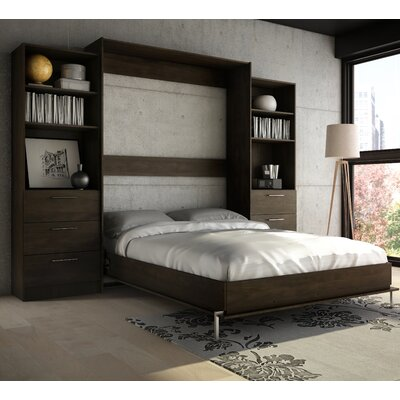 Lower Weston Murphy Wall Bed Size: Queen, Finish: Espresso