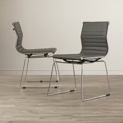Warner Side Chair Upholstery: Grey