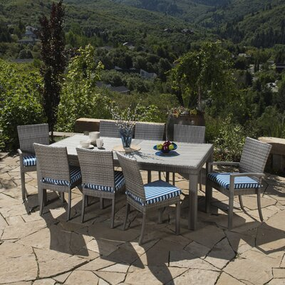 Alfonso 9 Piece Dining Set