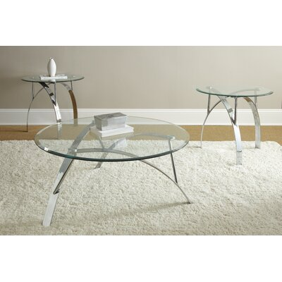 Raiana 3 Piece Coffee Table Set