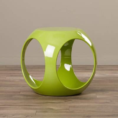 Kai End Table Color: Green
