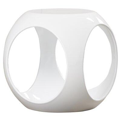 Kai End Table Color: White
