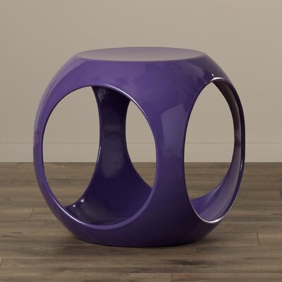Kai End Table Color: Purple