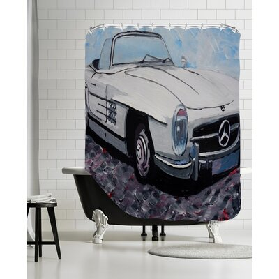 Mercedes Cabrio Shower Curtain