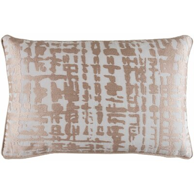 Mack Down Lumbar Pillow Color: Brown