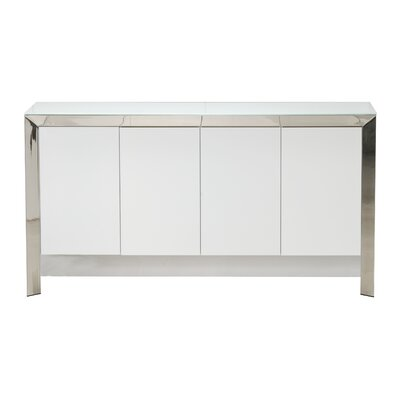 Grady Sideboard Color: White