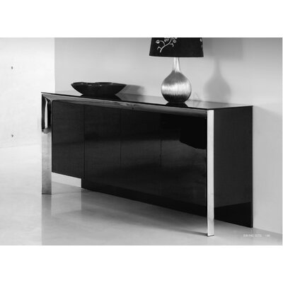 Grady Sideboard Color: Black