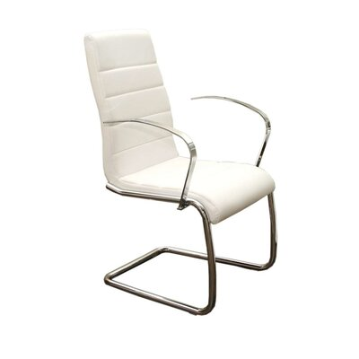 Randal Arm Chair Upholstery: White