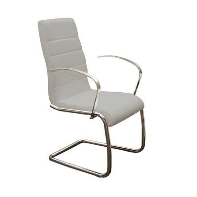 Randal Arm Chair Upholstery: Gray