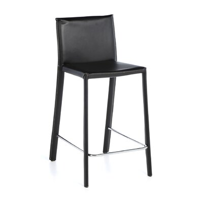 Nehls 29.5 inch Bar Stool Finish: Black