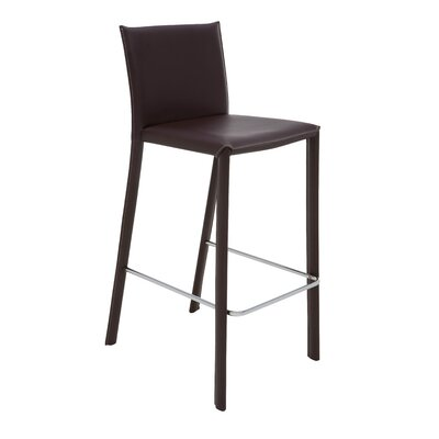 Nehls 29.5 Bar Stool Finish: Brown