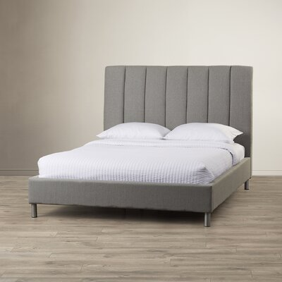 Bay Upholstered Panel Bed Size: King