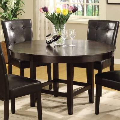 Brundage Round Wood Dining Table