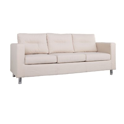 Clarence Sofa Upholstery: Beige
