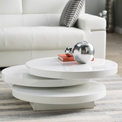 Marjorie Coffee Table Color: White