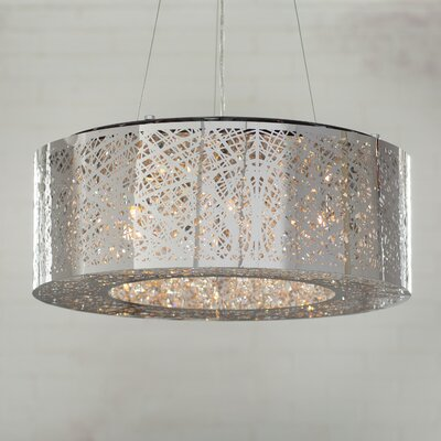 Dicicco 6-Light Drum Pendant