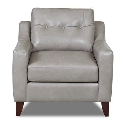 Lyle Arm Chair Color: Grey