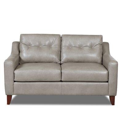 Levell Loveseat Upholstery: Grey