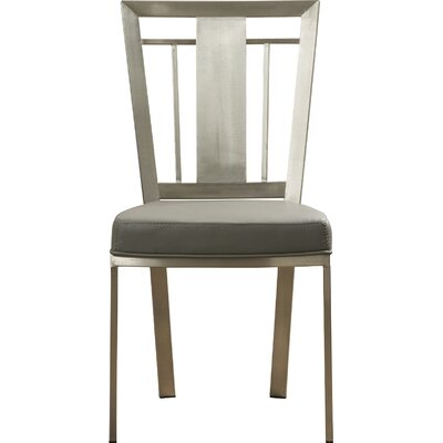 Cleo Side Chair Upholstery: Gray
