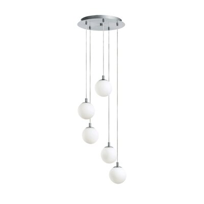 Brenden 5-Light Foyer Pendant