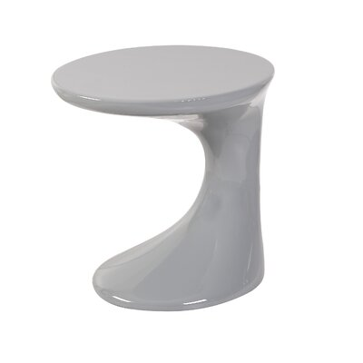 Kai End Table Color: Grey