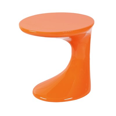 Kai End Table Finish: Orange