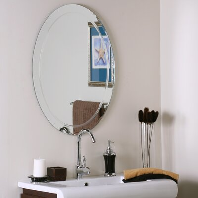 Wade Logan Frameless Wall Mirror