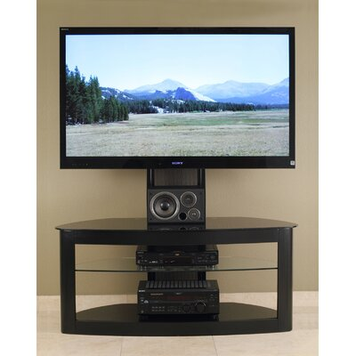Barcroft 50 TV Stand Color: Black